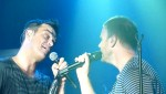 Robbie et Gary  au concert à Paris au Alhambra 10/10/2010 13a319101962535