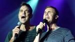 Robbie et Gary  au concert à Paris au Alhambra 10/10/2010 55522a101963721