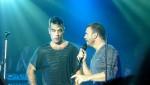 Robbie et Gary  au concert à Paris au Alhambra 10/10/2010 C6e2c6101961944