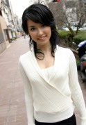 Maria Ozawa - White Sweater Set