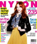 Evan Rachel Wood-Nylon November 2010