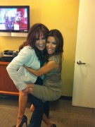 Marie Osmond getting attacked by Eva Longoria