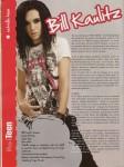 SCANS; Mundo Teen Nr. 7 tokio hotel special - bill kaulitz