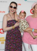 "Michelle Trachtenberg & Kelly Rutherford @ ""Super Saturday"" At Nova's Ark Project In Water Mill, New York -July 31st 2010- (HQ X6)"